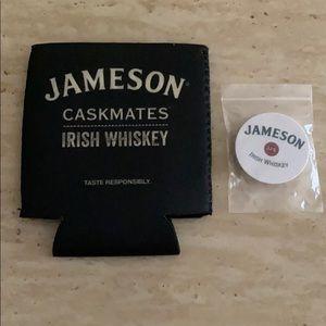 Jameson coozie & pop socket. Stocking stuffers new